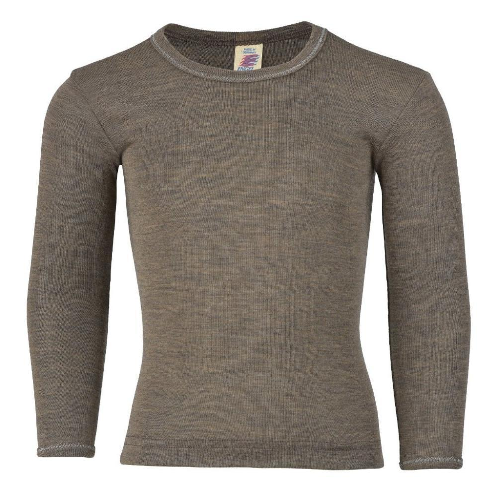 Engel Long Sleeved Top in Wool/Silk - Walnut