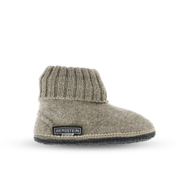 Cozy Adults Wool Slipper - Beige