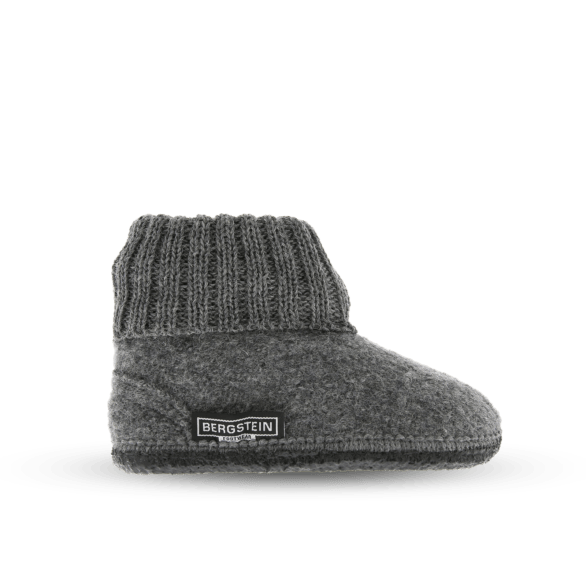 Cozy Adults Wool Slipper - Grey