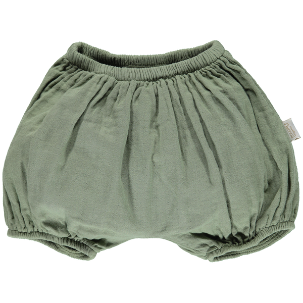 Organic Cotton Bloomers - Oil Green