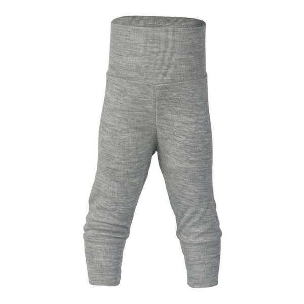 Engel Wool/Silk Baby Pants - Grey Melange