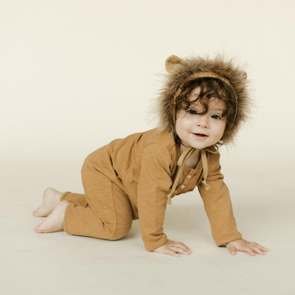 Briar Handmade Lion Bonnet (0m & 3m left)