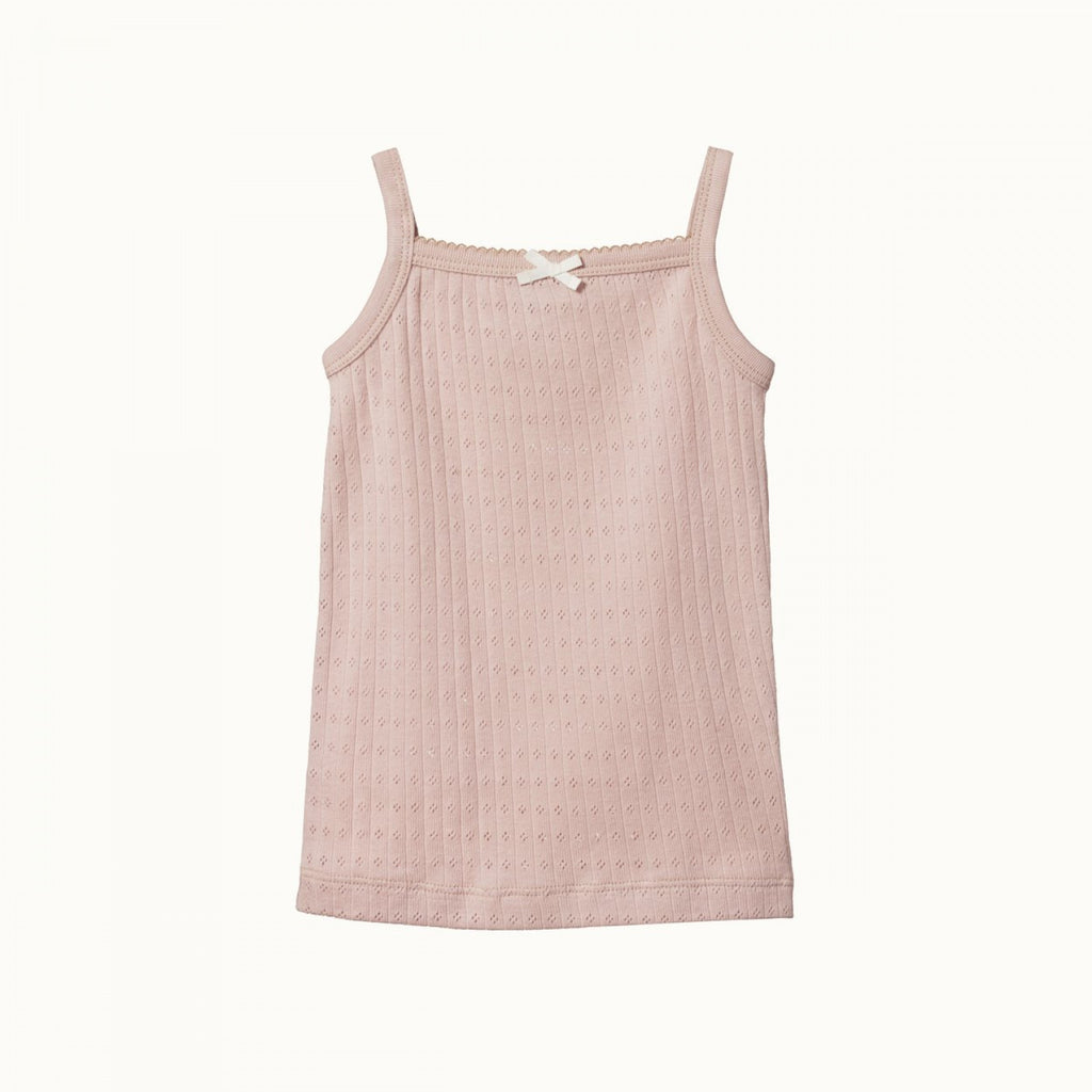 Pointelle Camisole - Rose Bud