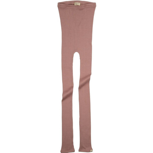 Silk/Cotton Bieber Rib Pants - Tulip