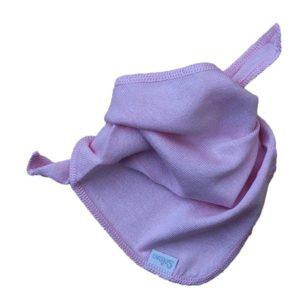 Selana Organic Cotton Baby Neck Cloth - Rose