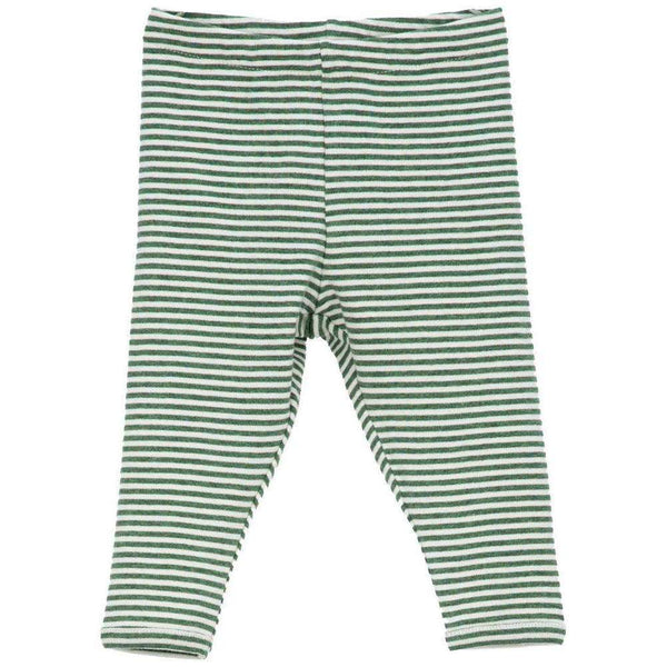 Serendipity Organics Baby Leggings - Olive/Offwhite