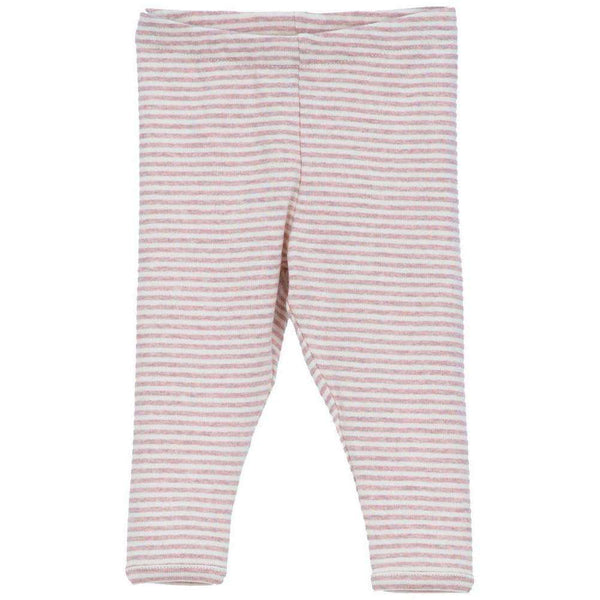 Serendipity Organics Baby Leggings - Pink/Offwhite