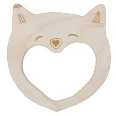 Wooden Story - Smily Cat Soother