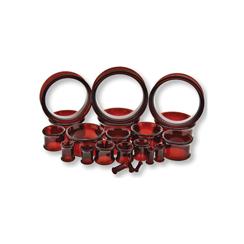 Metal Mafia Pyrex RED Double Flared Eyelet (GTDFRD)