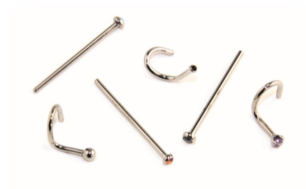 Industrial Strength Ti Nostril Screw with Soft Spike (TNS)