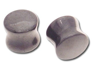 Tribalectic Single Hematite Stone Plug