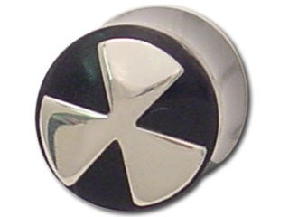 Tribalectic Sterling Silver Design Plug: Radioactive