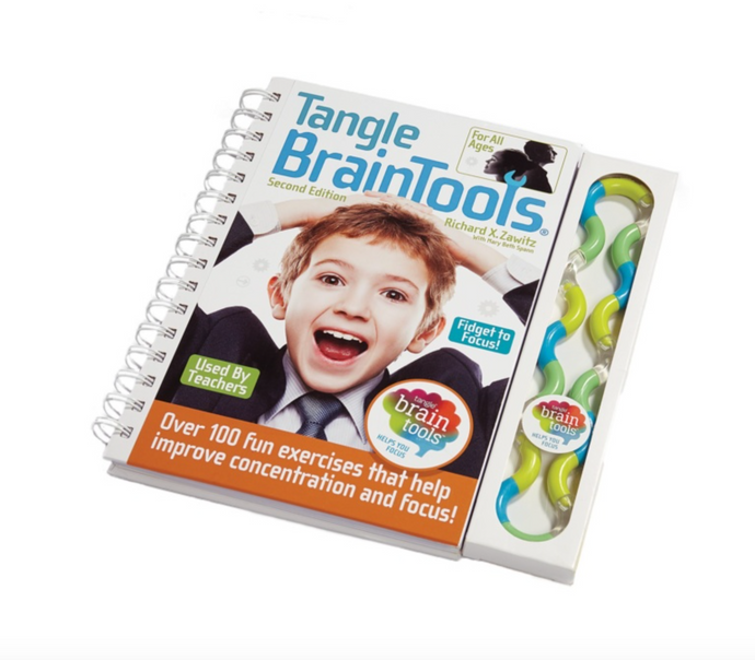 Tangle® Braintools Bók og Tangle® flækja