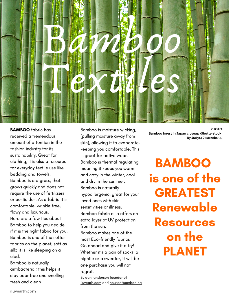 House Of Bamboo is a Sustainable Lifestyle Brand with a focus on being Environmentally and Socially Responsible. A great selection of Bamboo, Hemp and other Eco-friendly clothes for women, men, kids & baby. Also, for everyday living, towels, sheets, bedding, bath, kitchen, home Décor, natural beauty care and more..