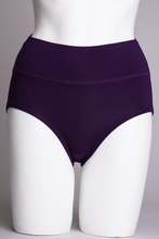 La Gaunche is shaped to be lightly horizontal, tucking snugly under the buttocks. Out of sight, out of mind.    Fabrication: BAMBOO - 95% Bamboo 5% Lycra   Fabrication - BAMBOO MODAL -50% Bamboo 42% Modal 8% Lycra  BLUE SKY Colour Royal Purple$15.00