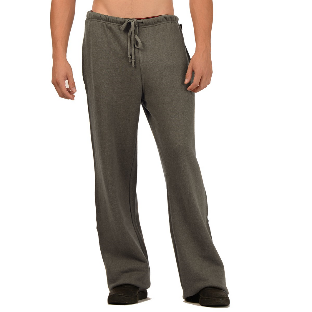 Our Tom Hemp Sweatpants just may end up being the best sweatpants you own. Warm and comfortable with an elastic waist and drawstring, two side pockets and one back pocket, great for everyday. Fabrication: 55% Hemp, 45% Organic Cotton - Fleece Eco-Essential Charcoal Grey $75.00