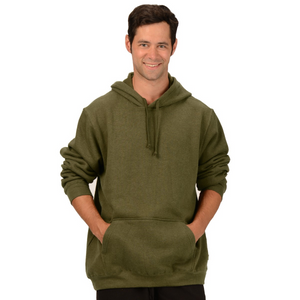 The Josh Pullover Hoodie is made with soft and warm Hemp Fleece. Soon to be your favorite sweatshirt it has a drawstring on the hood, kangaroo pockets and long sleeves with ribbed cuffs and hem. Fabrication: 55% Hemp 45% Organic Cotton -Fleece Eco-Essentials $90.00 colour olive green