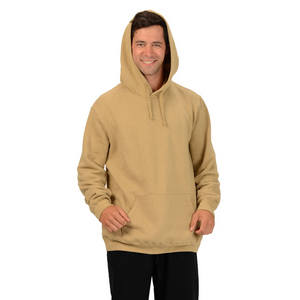 The Josh Pullover Hoodie is made with soft and warm Hemp Fleece. Soon to be your favorite sweatshirt it has a drawstring on the hood, kangaroo pockets and long sleeves with ribbed cuffs and hem. Fabrication: 55% Hemp 45% Organic Cotton -Fleece Eco-Essentials $90.00 colour taupe brown