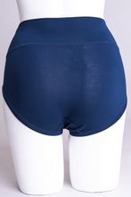 La Gaunche is shaped to be lightly horizontal, tucking snugly under the buttocks. Out of sight, out of mind.    Fabrication: BAMBOO - 95% Bamboo 5% Lycra   Fabrication - BAMBOO MODAL -50% Bamboo 42% Modal 8% Lycra  BLUE SKY colour indigo blue$15.00