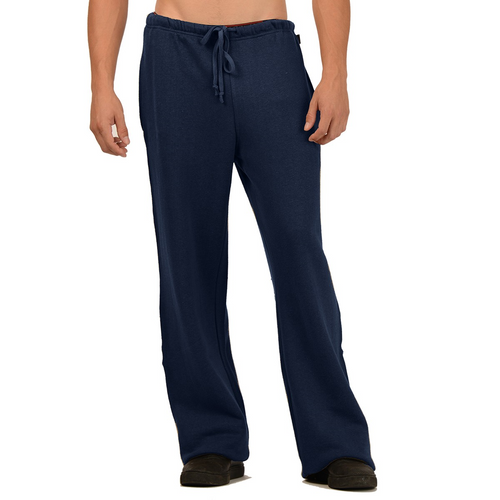 Our Tom Hemp Sweatpants just may end up being the best sweatpants you own. Warm and comfortable with an elastic waist and drawstring, two side pockets and one back pocket, great for everyday. Fabrication: 55% Hemp, 45% Organic Cotton - Fleece Eco-Essential Color Navy