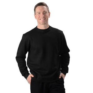 The Elisha Crew is your classic pullover sweatshirt, with ribbed cuffs and waistband. Made with soft and cozy Hemp fleece, it is a great sweatshirt for everyone! guy or girl, young or old, they will LOVE IT! Fabrication: 55% Hemp 45% Organic Cotton- Fleece Eco-Essentials Colour Black $80.00