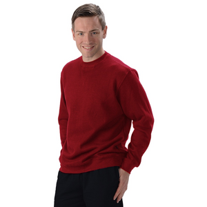 The Elisha Crew is your classic pullover sweatshirt, with ribbed cuffs and waistband. Made with soft and cozy Hemp fleece, it is a great sweatshirt for everyone! guy or girl, young or old, they will LOVE IT! Fabrication: 55% Hemp 45% Organic Cotton- Fleece Eco-Essentials Colour Burgundy Red $80.00