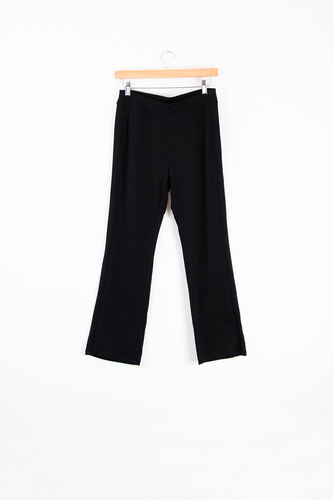 Strut the streets in your Sierra Side Panel Pant! As the piping details flatter your silhouette, these pants will give your outfit a playful edge.  Fabrication: French Terry 95% Bamboo Viscose 5% Spandex LNBF Colour Black