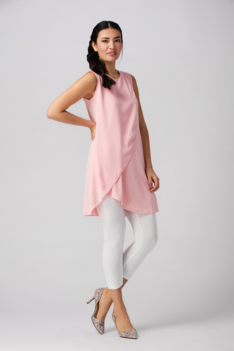 This classic silhouette, the Dayna Bamboo Cross Dress, with elegant chiffon overlay, will be your go-to slip on summer dress. For brunches, parties or just feeling pretty, you will Love your Dayna Bamboo Cross Dress. Peony Pink, 95% Viscose from Bamboo, 5% Spandex $62.99