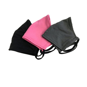Homemade style Eco-friendly Bamboo Face Mask, double layered, breathable, moisture wicking, washable and lots of colours to choose from. Proudly Made in Canada Fabrication: 92% Bamboo 8% Spandex String 92% bamboo 8% Spandex ECO-ESSENTIALS Colour Black-Primrose-Charcoal $13.95