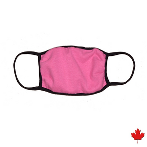 Homemade style Eco-friendly Hemp Mask, double layered, breathable, moisture wicking, washable and lots of colours to choose from. Proudly Made in Canada Fabrication: 55% Hemp 45% Organic Cotton String 92% bamboo 8% Spandex ECO-ESSENTIALS  Colour Pink