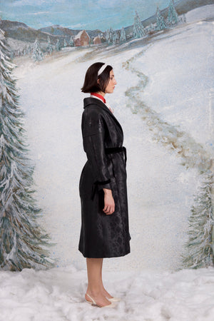 Winterlandschaft coat, Carbon Black