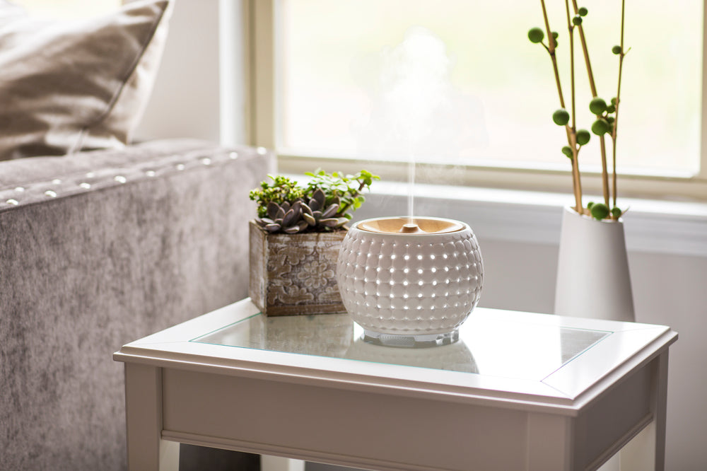 "Aroma Diffuser Ellia ""Gather"" Ceramic White"