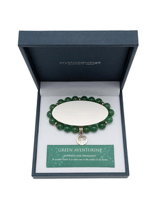 Green Aventurine Tree of Life Bracelet