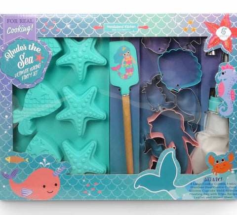 Under The Sea Mermaid Baking Kit