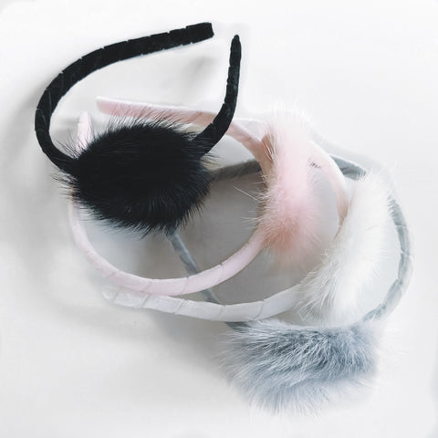 Mink Furry Headbands