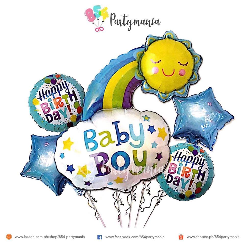 Foil Balloon Sets 5in1 Babies Set – 854Partymania