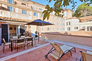 Margutta Terrace - Rome  2 bedroom large apartment with Terrace