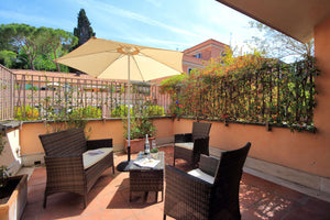 Margutta Terrace -  one bedroom with Terrace - Rome apartment sleeps up to 4