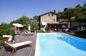 Cortona Foce - villa near Cortona sleeps up to 8