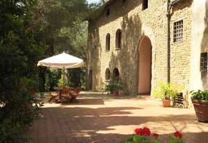 Malmantile - sleeps 8  restored farmhouse villa near Florence