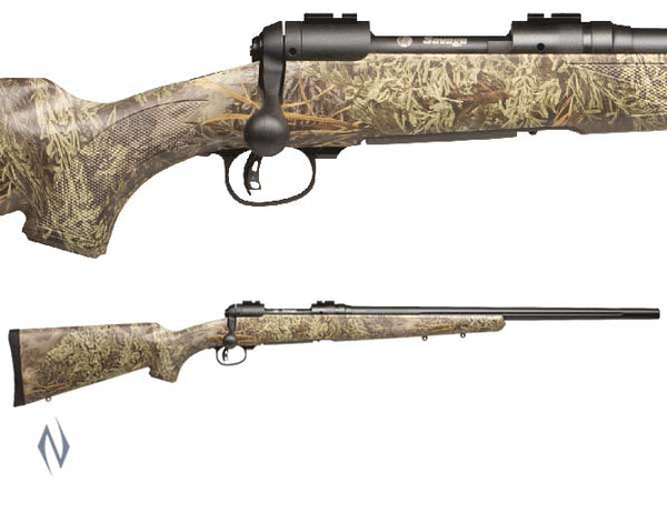 SAVAGE 10 PREDATOR HUNTER 243 WIN 24 INCH 4 SHOT MAX-1 CAMO DETACHABLE MAG - SKU: 10PH243MAX