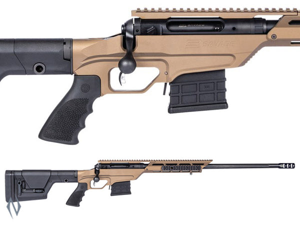 SAVAGE 110 BA STEALTH EVOLUTION 338 LAP 24 INCH 10 SHOT DM - SKU: 110BASE338 a  from SAVAGE sold by the best firearms store in Australia - Safari Firearms