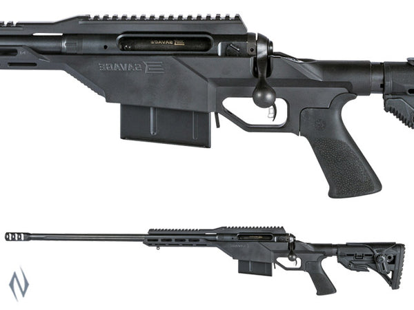 SAVAGE 110 BA STEALTH 300 WIN 24 INCH 5 SHOT WITH BRAKE DM LEFT HAND PINNED STOCK - SKU: 110BASL300PIN a  from SAVAGE sold by the best firearms store in Australia - Safari Firearms