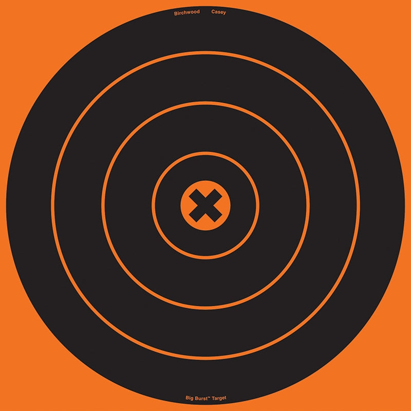 BIRCHWOOD CASEY BigBurst 12IN Bullseye - 3 Sheets - SKU: BW36123, Amazon, birchwood-casey, ebay, paper-targets, Shooting-Gear, Targets-Target-Holders, under-50