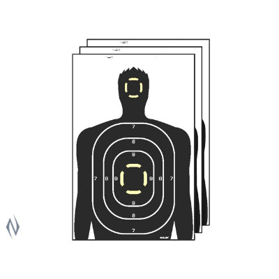 ALLEN EZ AIM SPLASH SILHOUETTE TARGET 5PK - SKU: AL15229, allen, Amazon, ebay, paper-targets, Shooting-Gear, Targets-Target-Holders, under-50