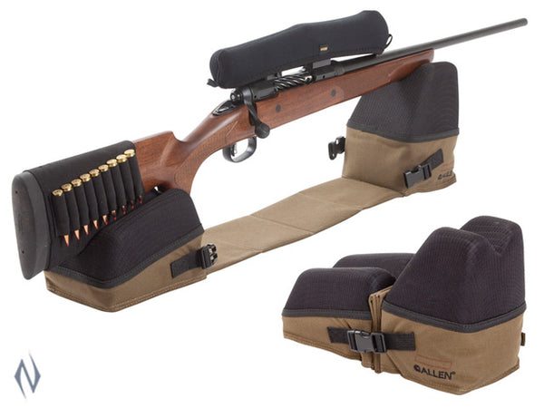 ALLEN ELIMINATOR CONNECTED SHOOTING REST FILLED - SKU: AL1834