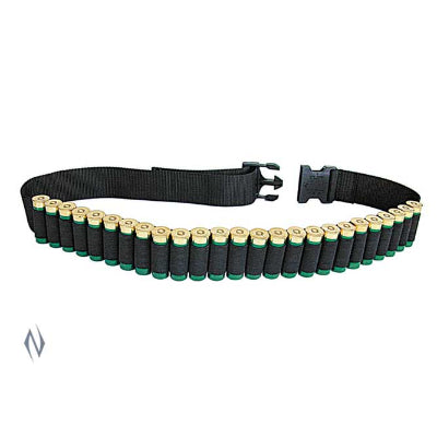 ALLEN 12G NYLON AMMO BELT BLACK (25 RNDS) - SKU: AL211, allen, ammo-magazine-pouches, ebay, Shooting-Gear, under-50