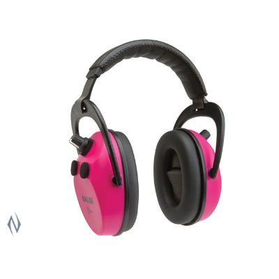 ALLEN AXION ELECTRONIC MUFFS ORCHID 25NRR - SKU: AL2232, 50-100, allen, Amazon, earmuffs-ear-plugs, ebay, Shooting-Gear