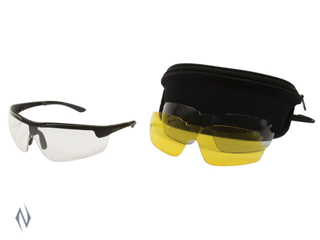 ALLEN ION BALLISTIC SHOOTING GLASSES 3 LENS SET - SKU: AL22777, 50-100, allen, Amazon, ebay, Shooting-Gear, shooting-glasses