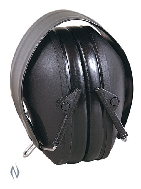 ALLEN LOW PROFILE EAR MUFFS 26NRR BLACK - SKU: AL2287